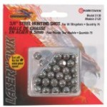 Marksman 3/8 Steel Shot, 75ct (Sports)