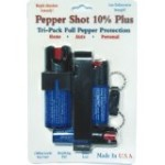 Pepper Shot Tri-Pack 3 Pepper Sprays Save $$$ (Misc.)