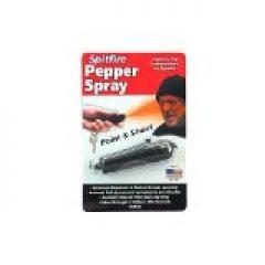 Spitfire Brand Personal Defense Pepper Spray