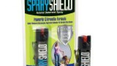 Deterrent Spray with Belt Clip