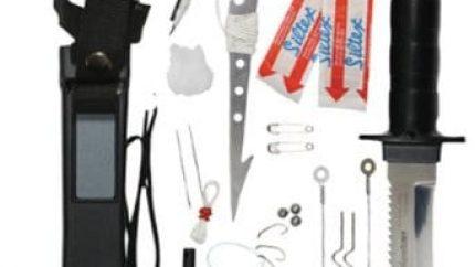 Deluxe Adventurer Survival Kit Knife