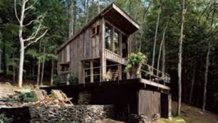 Recycled Wood Home