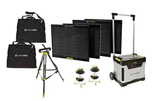 Goal Zero Yeti 1250 Solar Generator Kit