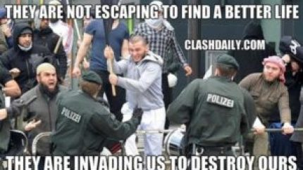 invading not immigrating