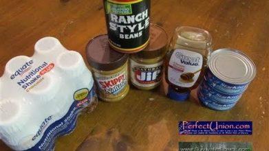 Survivalist tip - 5 easy survival food preps