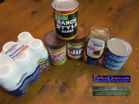 Survivalist tip – 5 easy survival food preps