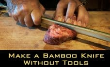 Make a Bamboo Knife Without Tools