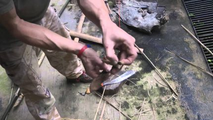 Bamboo survival arrow