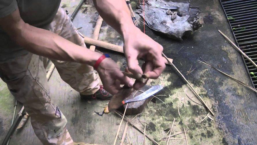 Bamboo survival arrow