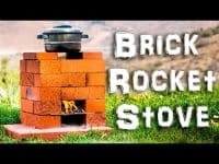 Build a Brick Rocket Stove