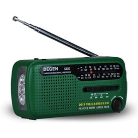 Emergency Solar Crank Radio