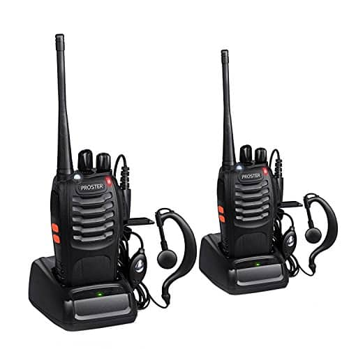 Proster Rechargeable 16 Channel Walkie Talkie Set