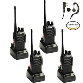 Baofeng Walkie Talkie 4 Pack