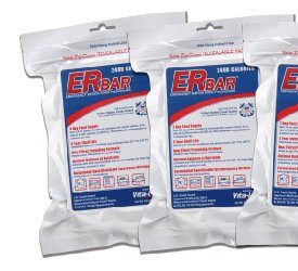 Emergency Food Bar for Survival Kits and Disaster Preparedness (Pack of 4)