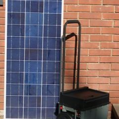 Offgridsolargenerators Portable Solar Generator Plug N Play 100 watt solar panel