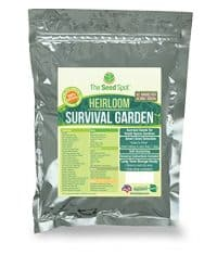 Heirloom Survival Garden Survival Seeds Set | 40,000 Non-GMO Seeds Kit | 52 Varieties Of Heritage Seeds | Fast Germination Rate & Yield | 100% Naturally Grown In The USA