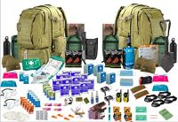 "4 x Person 72hr "" Bug Out Bag"" Coyote"