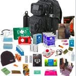 "One person 72hr Emergency "" Bug Out Bag"" Black"