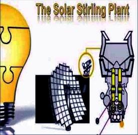Solar Stirling Plant – DIY Off-Grid Power